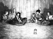 Dawn Mary Anne Mini-Camp sleepover SS10