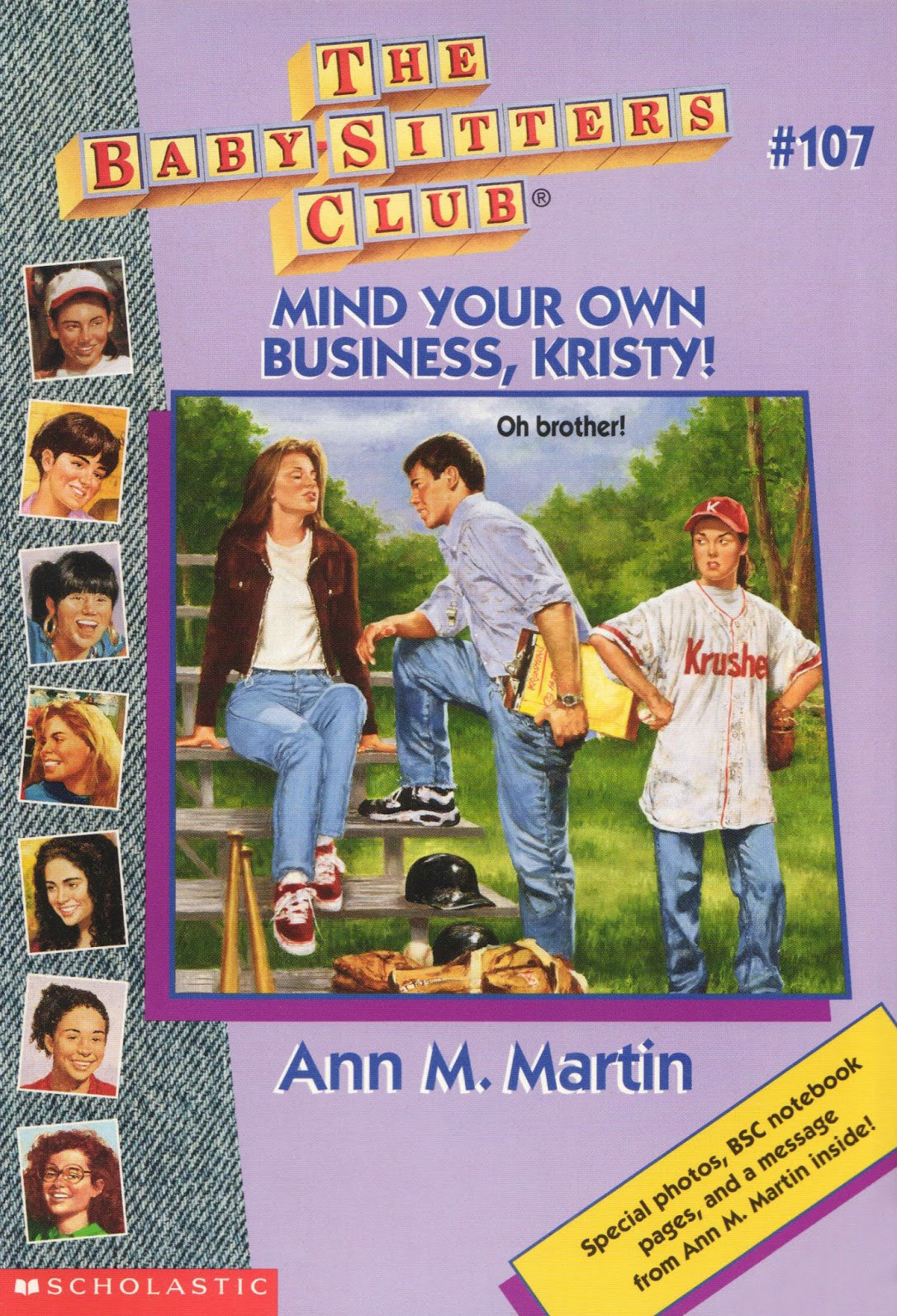 Mind Your Own Business, Kristy!