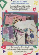 Collectors Mini Book back cover All New BSC Fan Club