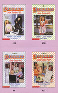 Baby-sitters Little Sister 50 trading cards front