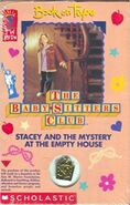 BSC Mystery 18 Stacey Mystery Empty House Book on Tape front