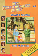 Baby-sitters Club 18 Staceys Mistake reprint cover