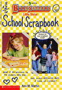 Baby-sitters Little Sister School Scrapbook front cover