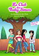 Le Club des Baby-Sitters 0. La fondation du Club -- French cover by Karim Friha