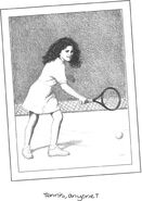 Abby fifth grade tennis AB