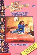 BSC - Mallory and the Mystery Diary 1996 reprint cover