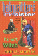 Baby-sitters Little Sister 01 Karens Witch 2001 reprint cover