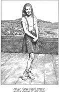 Dawn age 10 at Fishermans Wharf