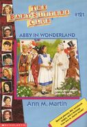 Baby-sitters Club 121 Abby in Wonderland cover