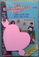 BSC 116 Abby Best Kid Ever pack with heart notepad