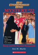 BSC Mystery 22 Stacey Haunted Masquerade ebook cover