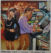 Baby-Sitters Club 71 Claudia and the Perfect Boy cover original painting