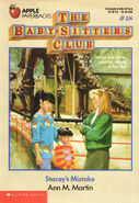 Baby-sitters Club 18 Staceys Mistake original cover