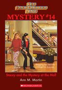 BSC Mystery 14 Stacey Mystery at the Mall ebook cover