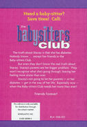 Baby-sitters Club 3 The Truth About Stacey 2002 reprint back cover