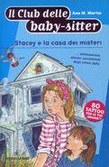 Il Club delle baby-sitter 35 Stacey casa dei misteri italian cover