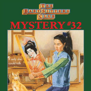BSC Mystery 32 Claudia Mystery in the Painting ebook cover.jpg