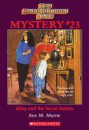 BSC Mystery 23 Abby Secret Society ebook cover