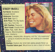 Stacey profile from Sea City poster