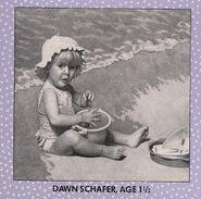 Dawn Age 1 from 1993 Calendar