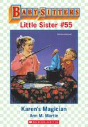 Baby-sitters Little Sister 55 Karens Magician ebook cover