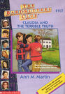 Baby-sitters Club 117 Claudia and the Terrible Truth cover