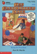 Baby-sitters Club 53 Kristy for President original front cover 1st print