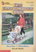 Mary Anne + 2 Many Babies 2nd printing