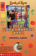 Baby-sitters Club 88 Farewell Dawn Book on Tape front
