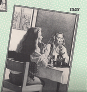Stacey in her room from 1994 Calendar