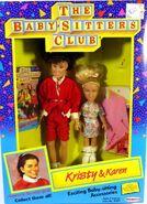 Kristy Karen 1991 Remco dolls box front