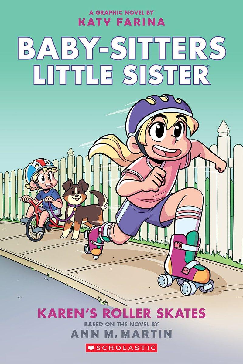 Karen's Roller Skates (Graphic Novel)