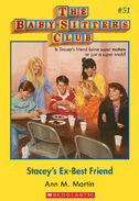 BSC 51 Stacey's Ex-Best Friend ebook cover