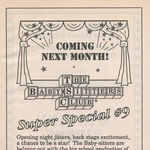 Super Special 9 Starring the Baby-sitters Club bookad from 59 orig 1stpr 1992.jpg