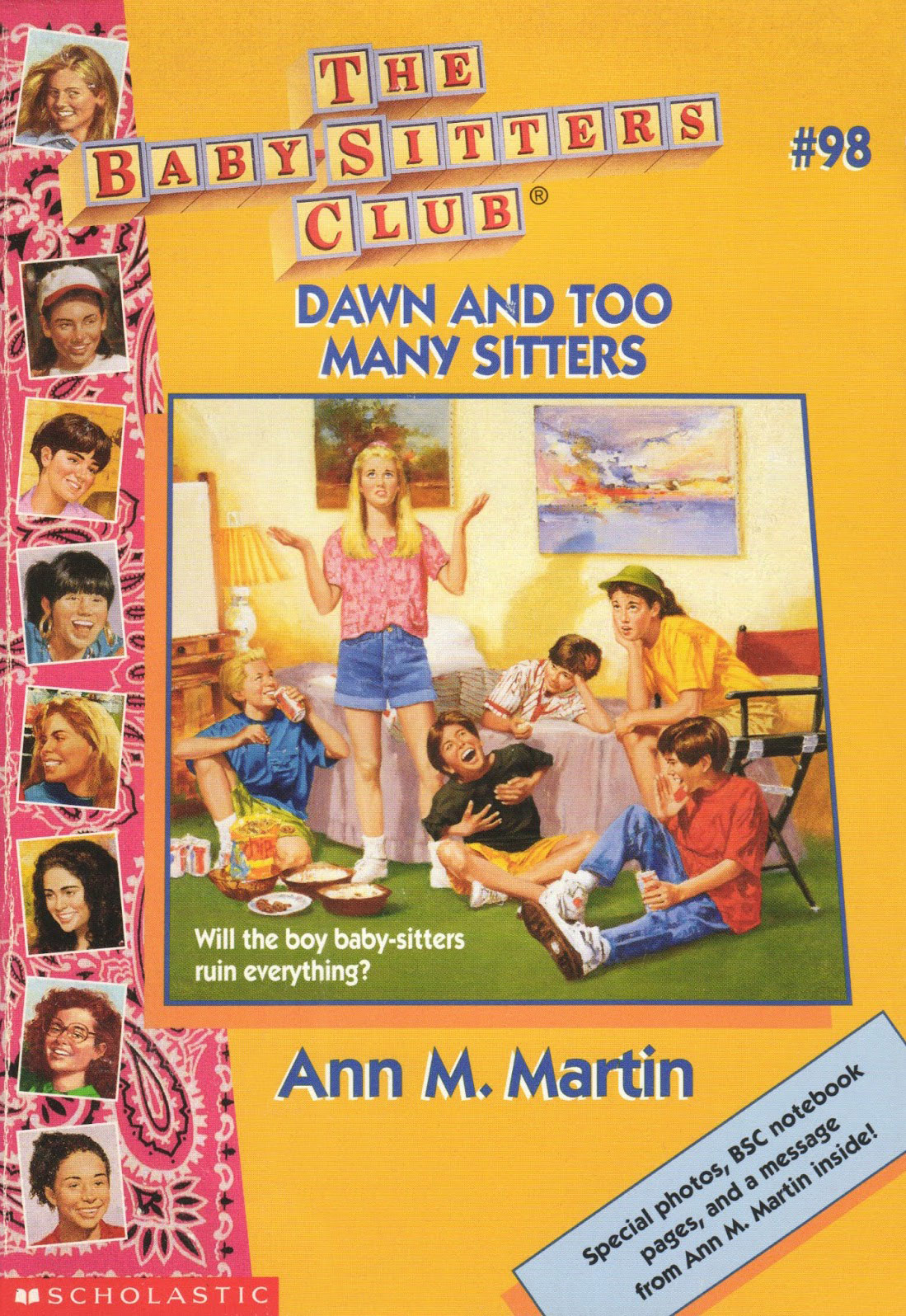 Dawn and Too Many Sitters