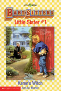 Baby-sitters Little Sister 01 Karens Witch cover 44300 12thpr