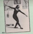 Jessi dancing in her room from 1994 Calendar