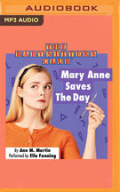 Mary Anne Saves the Day -- audiobook cover