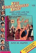 BSC - Mary Anne and the Great Romance 1996 reprint cover