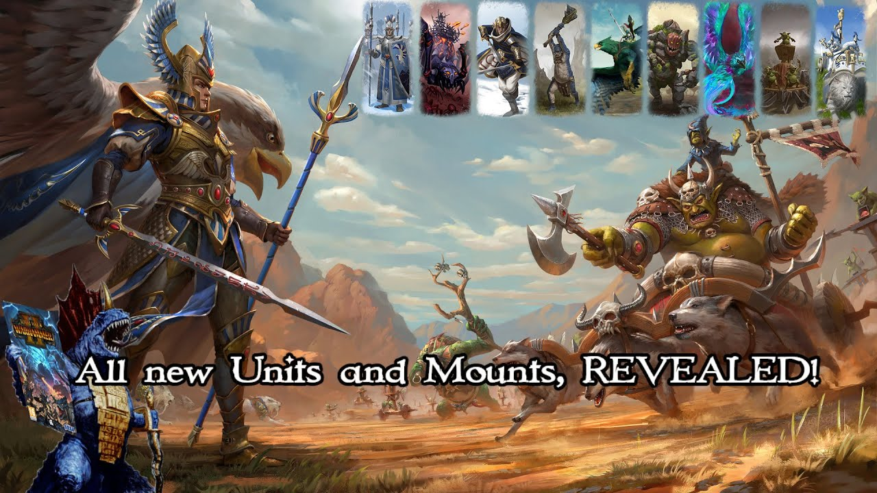 NEW REVEALS! WARDEN & the PAUNCH DLC Showcase of all New Units, Mounts, and Abilities!