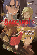 Baccano! Vol9 English Cover