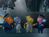 Policías y Robots