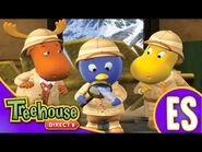 Los Backyardigans- Sigue la pluma - HD Episodios Para Niños - Ep