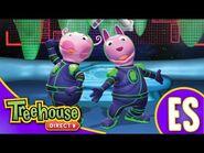 Los Backyardigans- Los galícticos - HD Episodios Para Niños - Ep