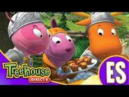 Los Backyardigans- La historia del Dragón no tan bueno - HD Episodios Para Niños - Ep