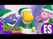 Los Backyardigans- Los duendes de acción salvan la noche buena - HD Episodios Para Niños - Ep