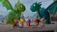 La Historia de un Dragón no tan Bueno infobox