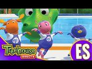 Los Backyardigans- Los increíbles Saltinis - HD Episodios Para Niños - Ep