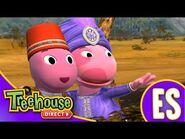 Los Backyardigans- Elefanta huyendo - HD Episodios Para Niños - Ep