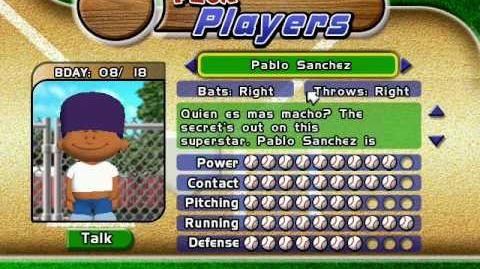Backyard Baseball 2005 - Pablo Sanchez Theme